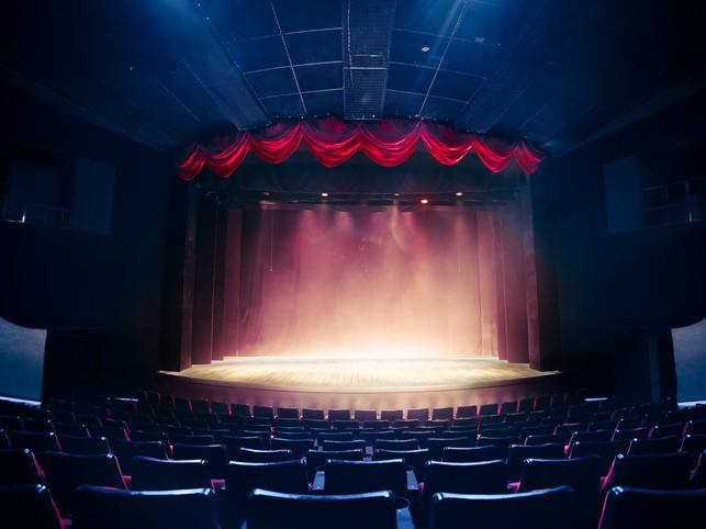 An atmospheric theatre. Beware the futility of wellness theatre