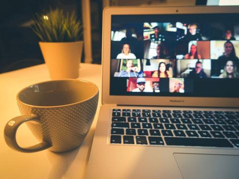 Advice on facilitating peer support among students in large online lectures